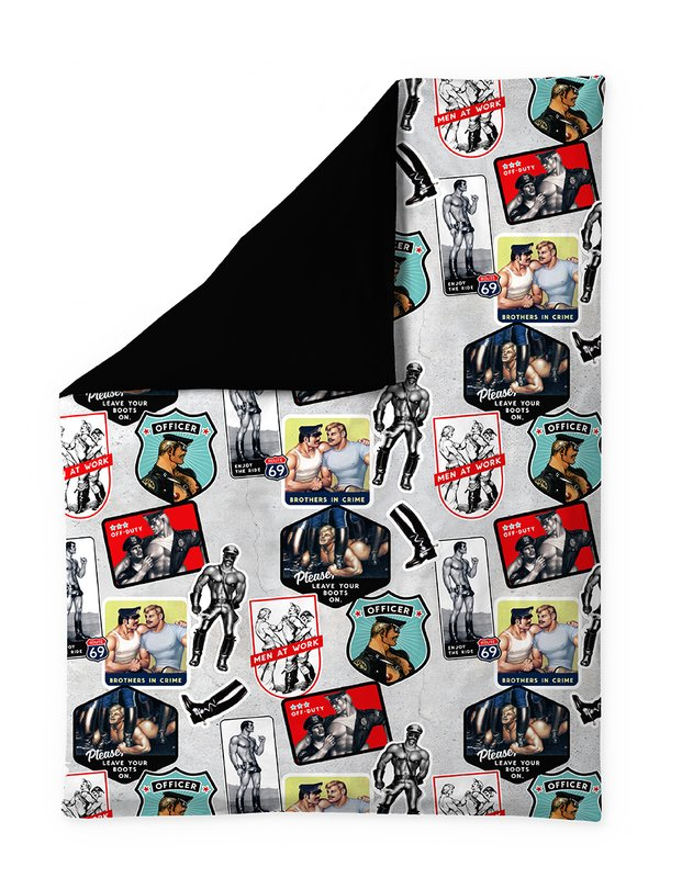 Tom of Finland, Cruise Duvet Cover by Finlayson x Tom of Finland
