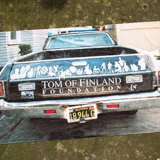 Tom's Ride Towel by Daniel Trese art for sale