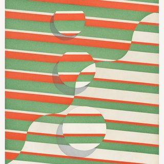 Untitled (wavy line) art for sale