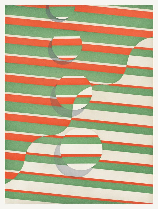 by tomma_abts - Untitled (wavy line)