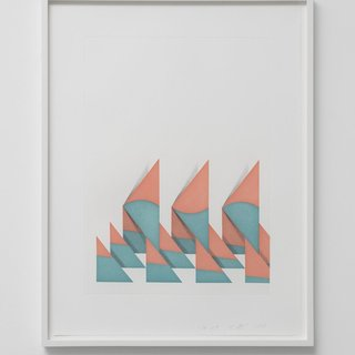 Untitled (Triangles) art for sale