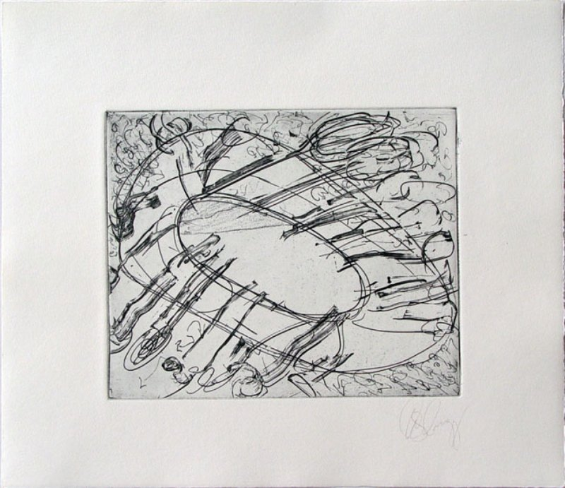 Tony Cragg, 6 etchings for the Hamburger Griffelkunst Vereinigung -