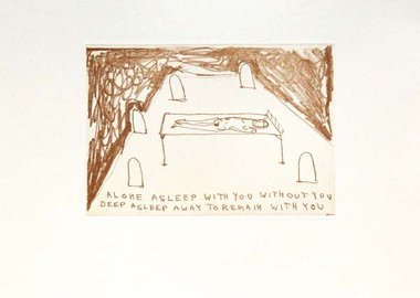 work by Tracey Emin - With You Or Without You