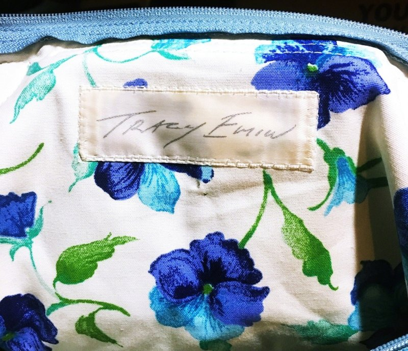 Tracey Emin, Always Me 1623: Longchamp Bag by Tracey Emin -