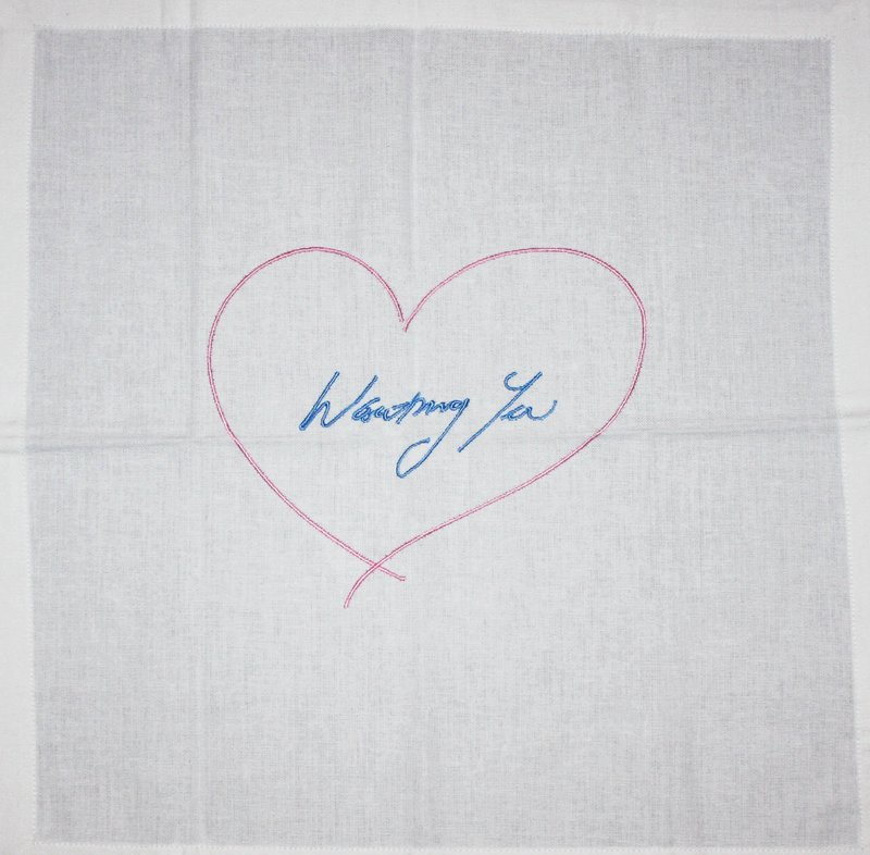 Tracey Emin, Wanting You (Pink/Blue)