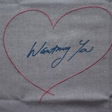 Tracey Emin, Wanting You (Pink/Blue) -