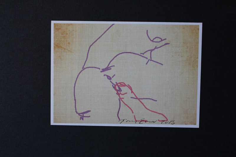 view:29034 - Tracey Emin, iPad Postcard Sketches (Set of 5) -