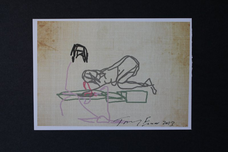 view:29035 - Tracey Emin, iPad Postcard Sketches (Set of 5) -