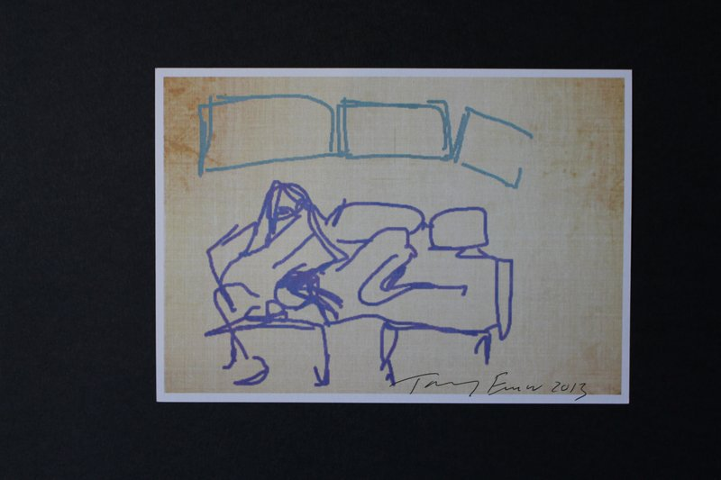 view:29036 - Tracey Emin, iPad Postcard Sketches (Set of 5) -