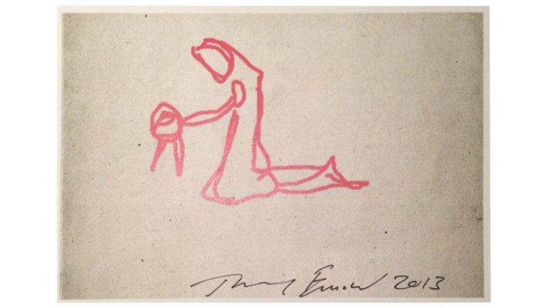 Tracey Emin, Nativity; Art Advent Calendar