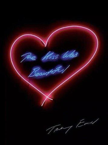 Tracey Emin - The Kiss Was Beautiful, Print