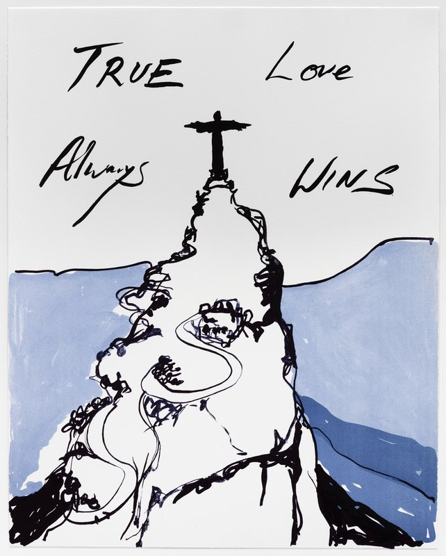 by tracey_emin - True Love Always Wins