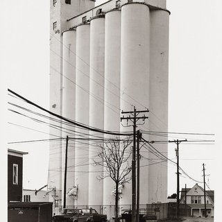 Bernd and Hilla Becher, Grain Elevator-Sycamore, Ohio, USA