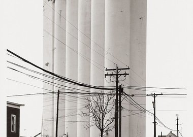 work by Bernd and Hilla Becher - Grain Elevator-Sycamore, Ohio, USA