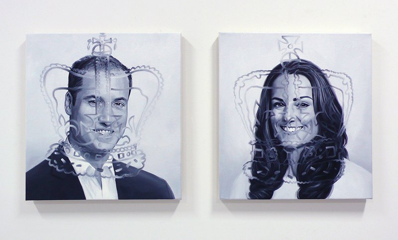 main work - Andre Von Morisse, The Inability of Meeting Someone Famous Objectively, Meeting Will & Kate