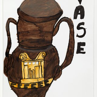 The Black Vase art for sale