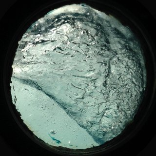 Porthole Waves (Svalbard) Day 14 art for sale