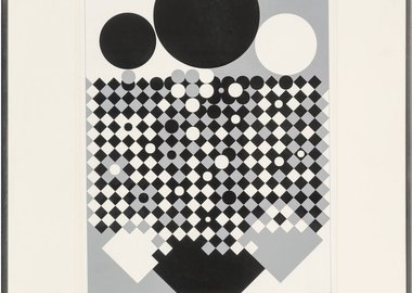 work by Victor Vasarely - Antares