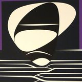 different view - Victor Vasarely, Purple Composition - 3