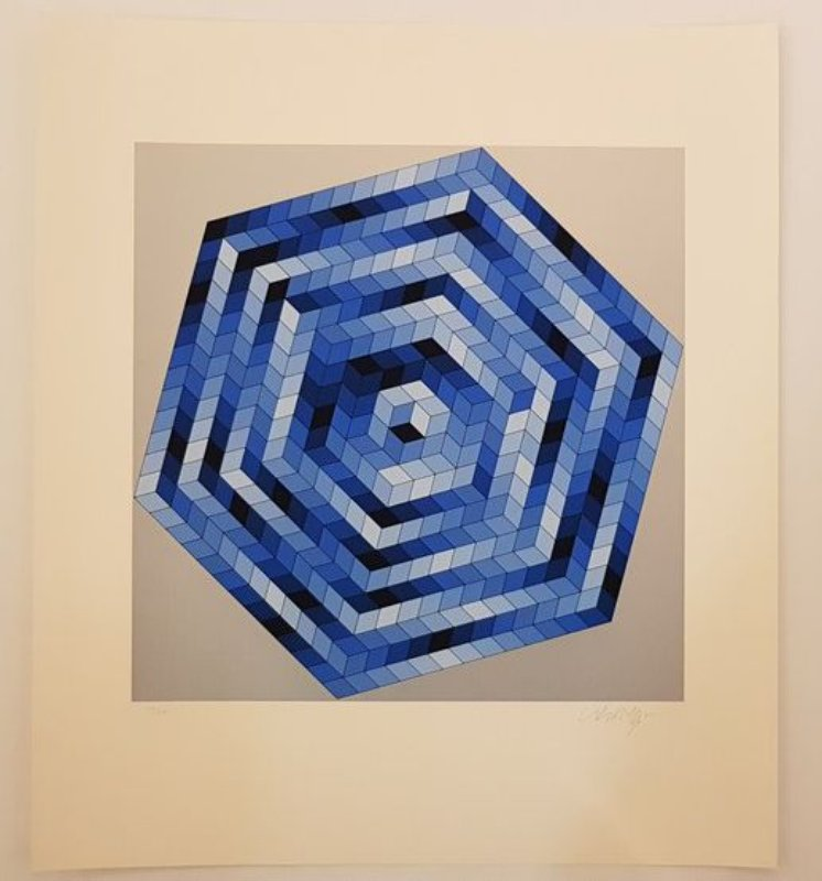 main work - Victor Vasarely, Sette