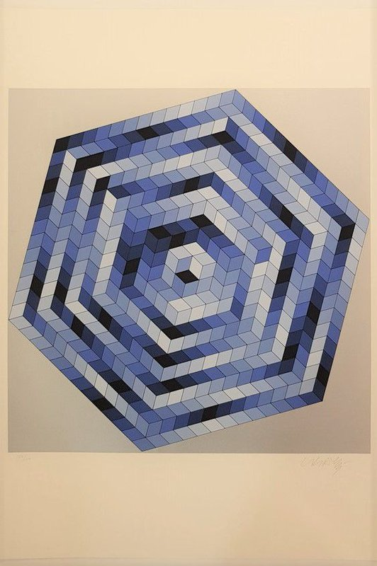 view:29172 - Victor Vasarely, Sette -