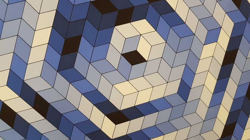 view:29176 - Victor Vasarely, Sette -