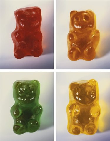 Vik Muniz - Gummy Bears (set of 4)