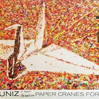 Paper Crane for Japan (Hand Signed) art for sale