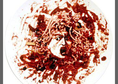 work by Vik Muniz - Medusa Marinara