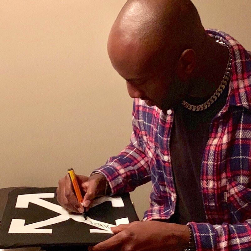 Virgil Abloh - SIGNED OFF-WHITE™ x RIMOWA Suitcase for Sale