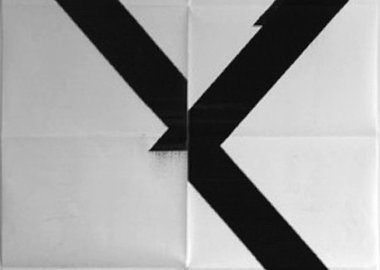 work by Wade Guyton - Untitled (X Poster)