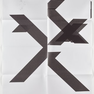 "X Poster (Untitled, 2007, Epson UltraChrome inkjet on linen, 84x69"", WG1210), 2018 art for sale"