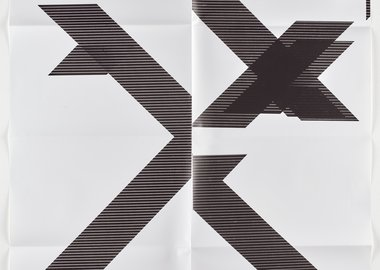 Wade Guyton - X Poster (Untitled, 2007, WG1210)