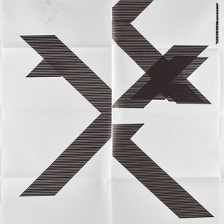 X Poster (Untitled, 2007, Epson UltraChrome inkjet on linen, 84 x 69 in, WG1210) art for sale