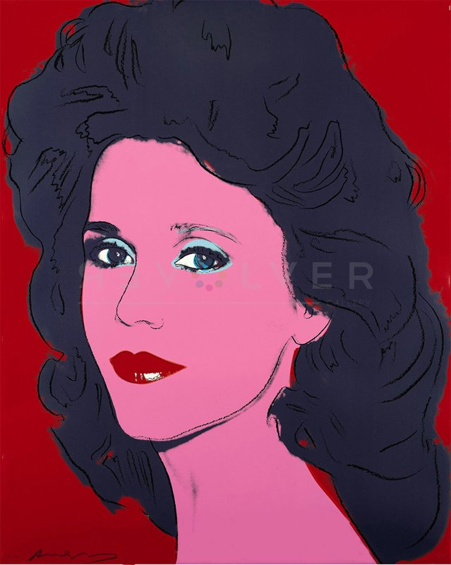 by andy_warhol - Jane Fonda (FS II.268)