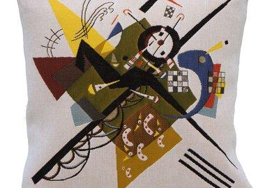 weiss auf weiss, wassily kandinsky - auf weiss ii (tapestry) for sale | artspace, Innenarchitektur