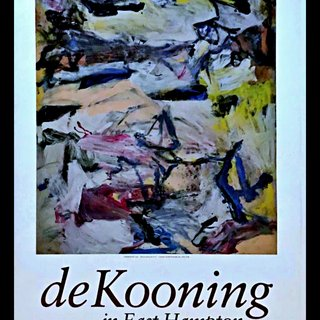 de Kooning in East Hampton (Hand Signed by de Kooning) art for sale