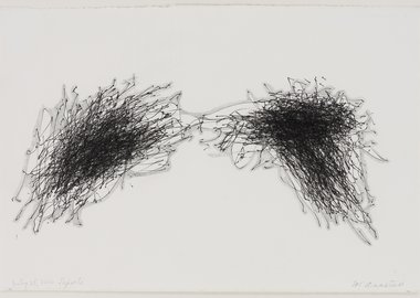 work by William Anastasi - Untitled (July 25, 2010 Laporte)
