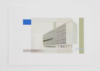 work by Xavier Veilhan - Modernist Banknote