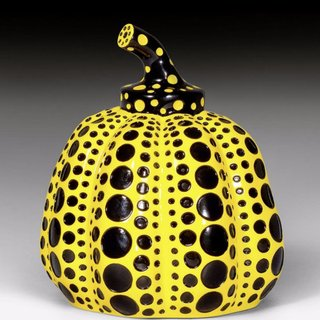 Pumpkin (Yellow and Black) art for sale