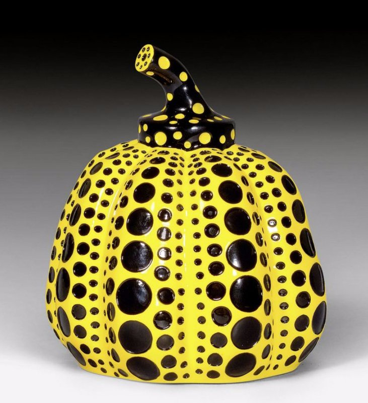 by yayoi_kusama - Pumpkin (Yellow and Black)