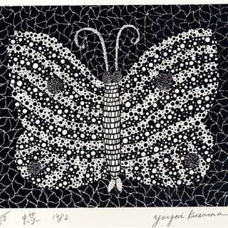 Butterfly (Kusama 18) art for sale