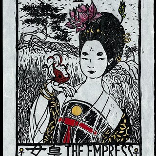 The Empress art for sale