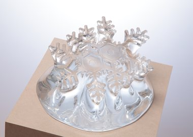 Yutaka Sone - Every Snowflake has a Different Shape No. 30