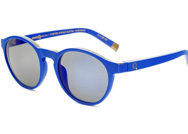work by Yves Klein - Klein Blue® Sunglasses- Round Blue