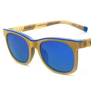 Klein Blue Sunglasses – Square Gold art for sale