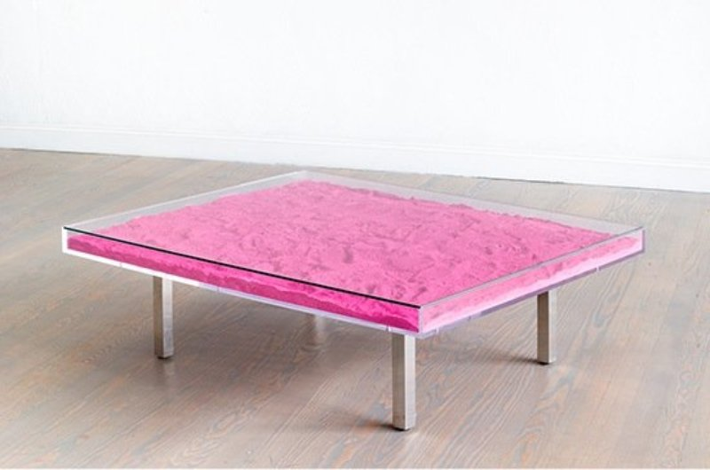 view:7063 - Yves Klein, Monopink™ Table -