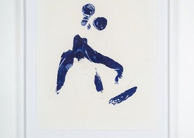work by Yves Klein - Monique (ANT 57)