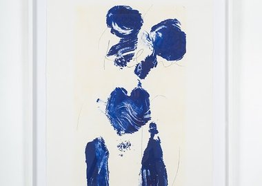 work by Yves Klein - Helena (ANT 61)