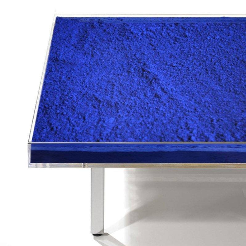 yves klein table bleu for sale artspace. Black Bedroom Furniture Sets. Home Design Ideas